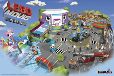 Awesome New Details on LEGO MOVIE WORLD Coming to LEGOLAND Florida