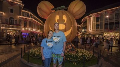 Couple Spends Magical Day Visiting All Six Disney Theme Parks in the U.S.