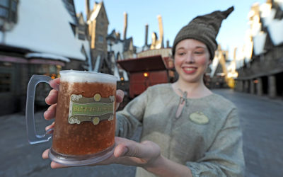 Universal Orlando Celebrates 20 Millionth Butterbeer Sold