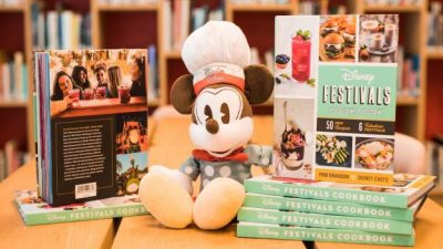 New Disney Festivals Cookbook