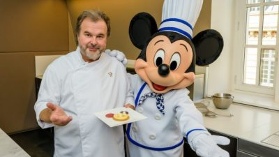 Limited-Time Mickey Dessert by Chef Pierre Hermé Coming to Disneyland Paris