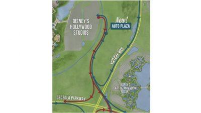 New Entrance for Autos at Disney's Hollywood Studios Opens Nov. 8