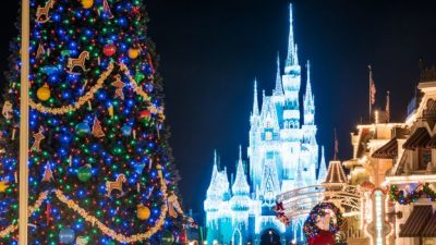 Watch Magic Kingdom Park Transform for the Holidays
