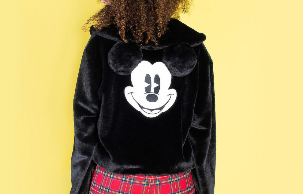 Cakeworthy Releases Faux Fur Mickey Mouse Jacket
