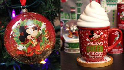 Mickey's Very Merry Christmas Party Holiday Merchandise