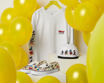 Mickey Mouse 90th Vans Merchandise