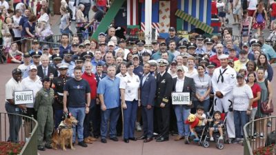 Walt Disney World Resort Commemorates Veterans Day at Magic Kingdom