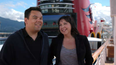 Here's What 'Frozen' Songwriters Thought of Their Family's Disney Cruise to Alaska