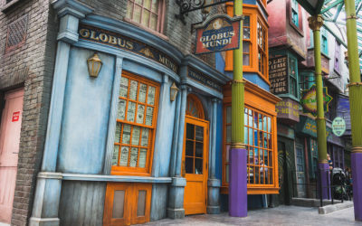 Globus Mundi Shop Now Open at Diagon Alley