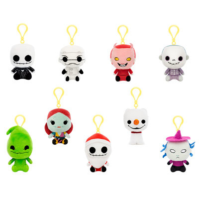 Nightmare Before Christmas Plush Mystery Minis Now Available
