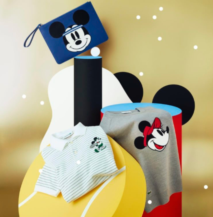 The New Lacoste Collection Features Mickey and Minnie