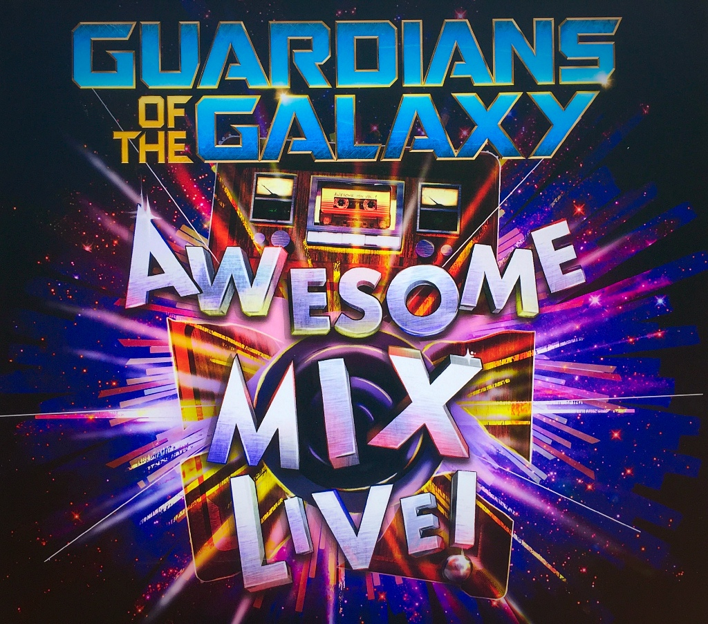 Guardians of the Galaxy Awesome Mix Live Kicked Off Today at Epcot