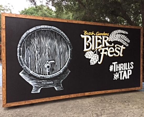 Bier Fest at Busch Gardens Tampa Kicks Off Today August 25