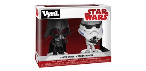 Star Wars - Darth Vader & Stormtrooper Vynl.! Coming Soon