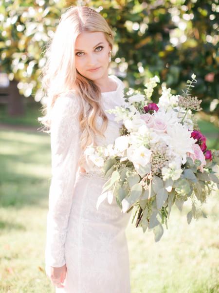 Long Sleeve Dress Bridal Gown Wedding Dress