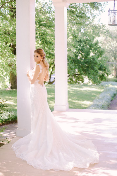 Lace Wedding Gown Bride Dress