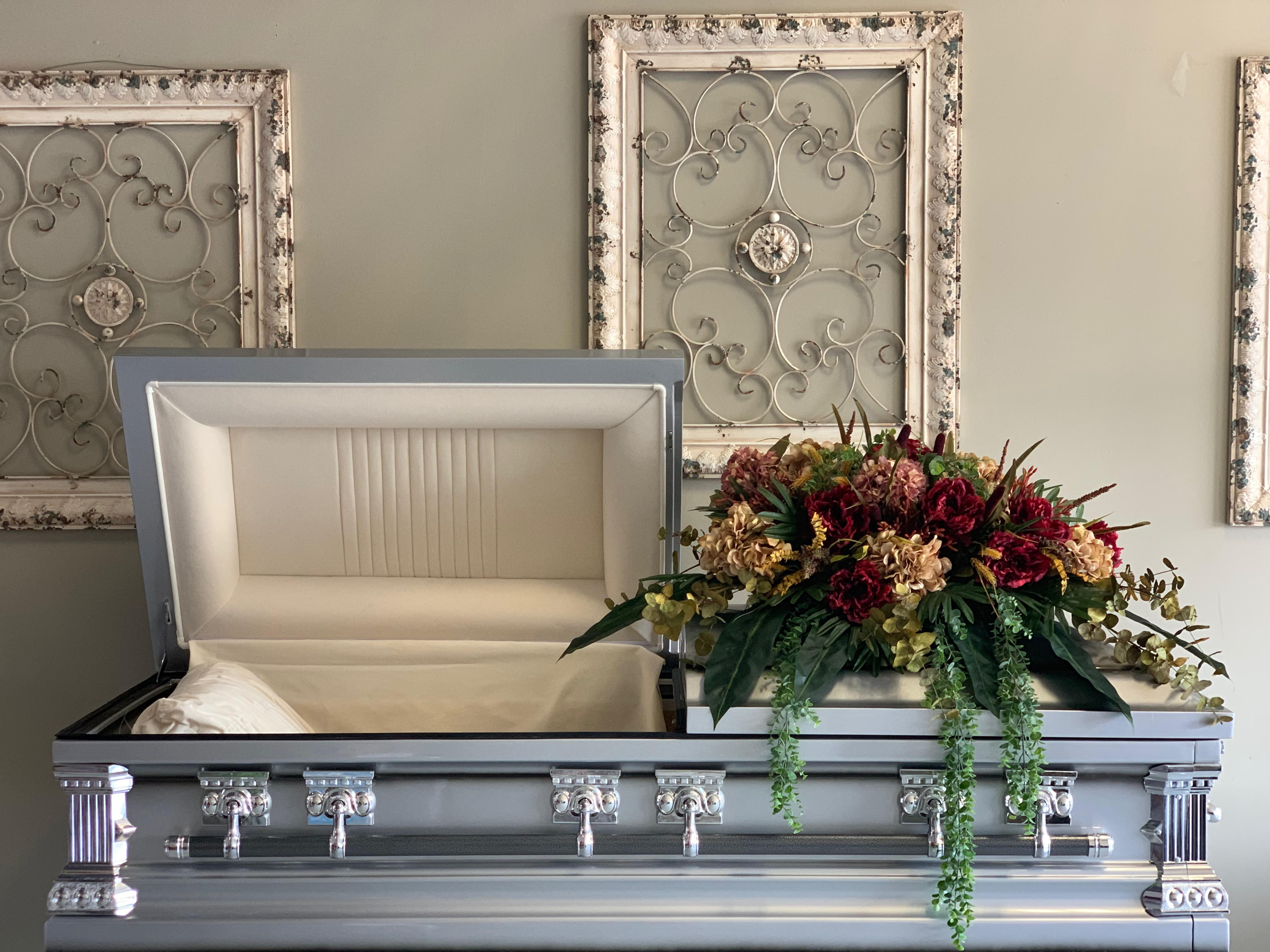 Silk Casket Cover
