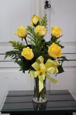 Half of Dozen Long Stem Roses(Colors can be vary)  $45.00