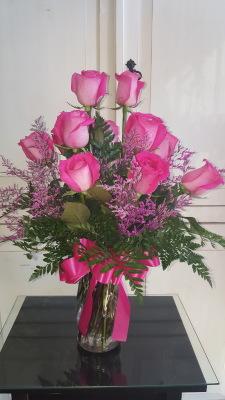 GP-169. Dz Pink Roses.  $65.00