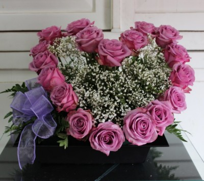 Pink Heart.  GP-160  .  $95.00