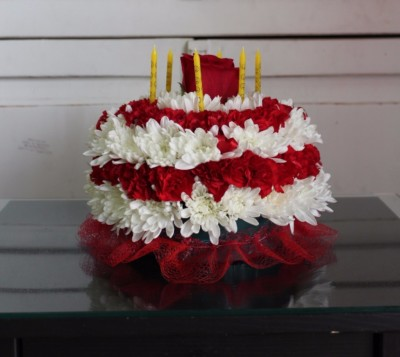 Red Birthday Cake. $39.99