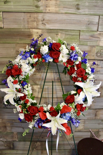 GP-977. PATRIOTIC WREATH. $249.99