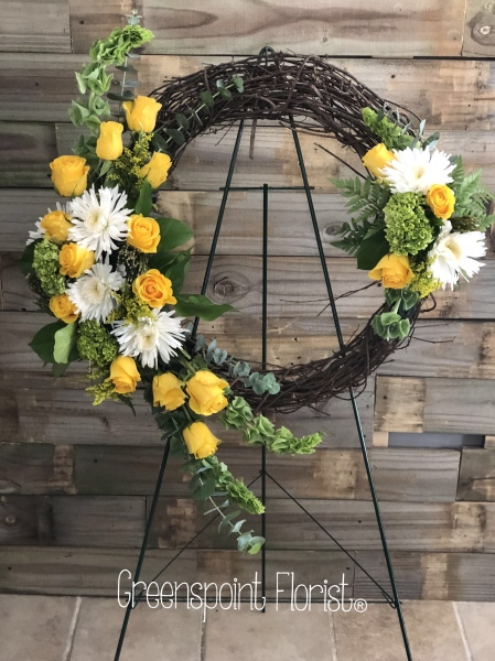GP-908.  $219.99. Curly Willow Wreath