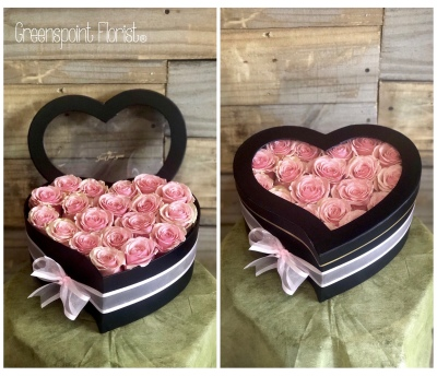 GP-177.Pink Roses Heart .$139.99