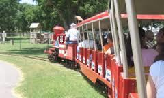 Train ride at Spring River Zoo