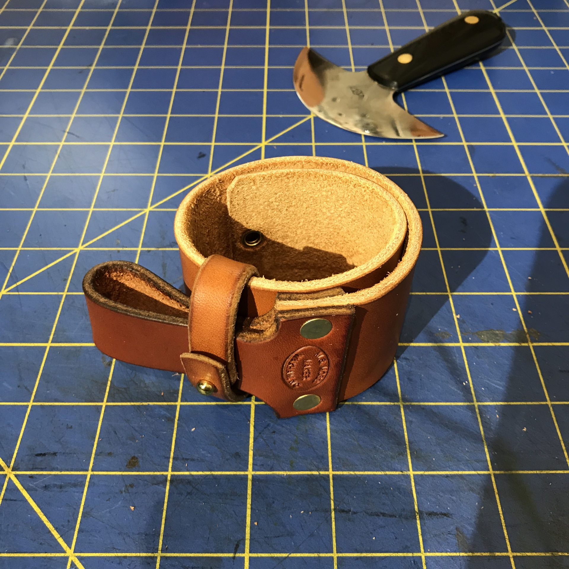 Roll-up Carry Knife Strop