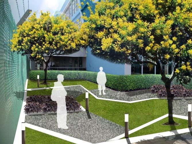LARZ landscape architecture project westports landscape upgrading landscape consultant malaysia landscape firm