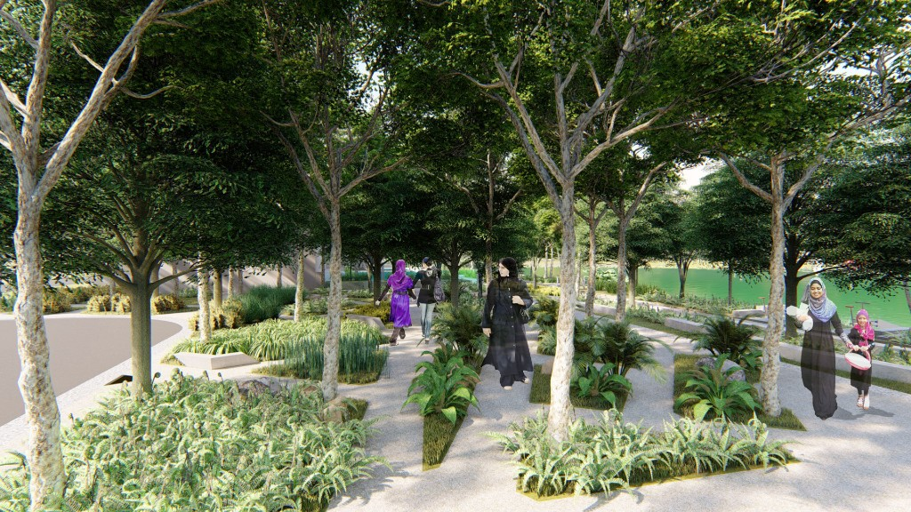 LARZ landscape architecture MASTERPLAN TOWNSHIP project  landscape upgrading landscape consultant malaysia landscape firm