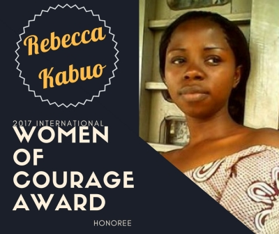 2017 Women of Courage Award Honoree