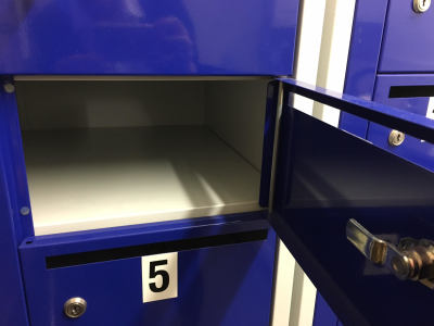 use of mailbox at bojea self storage