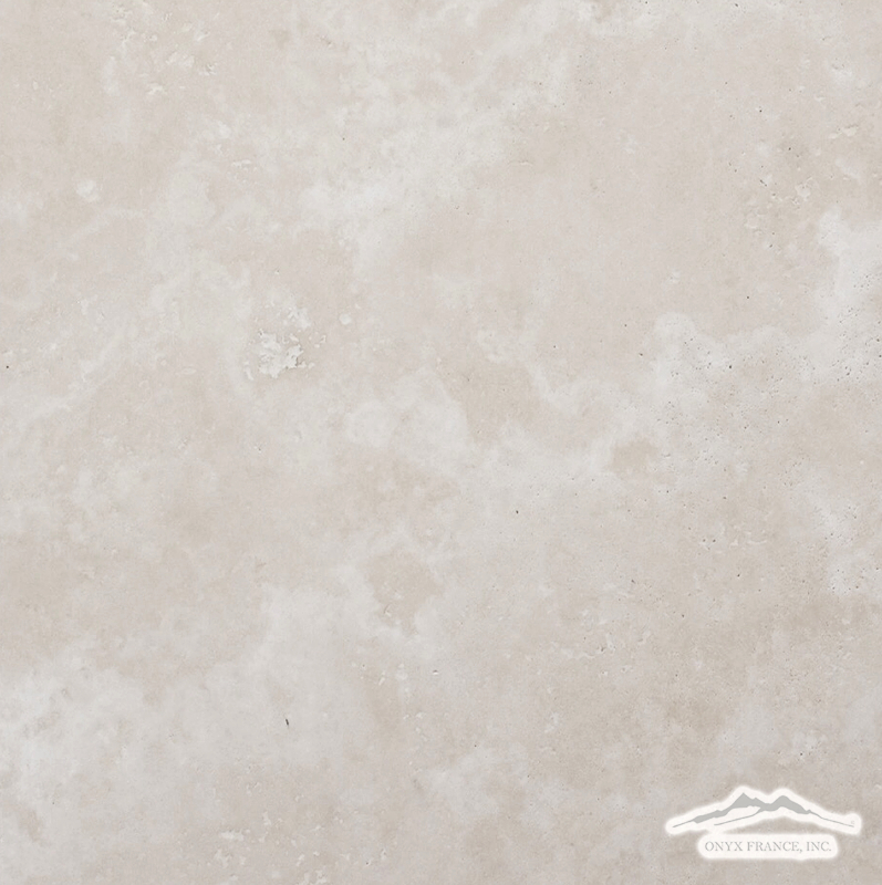 "Beige Antique Travertine 12"" x 12"" Honed"