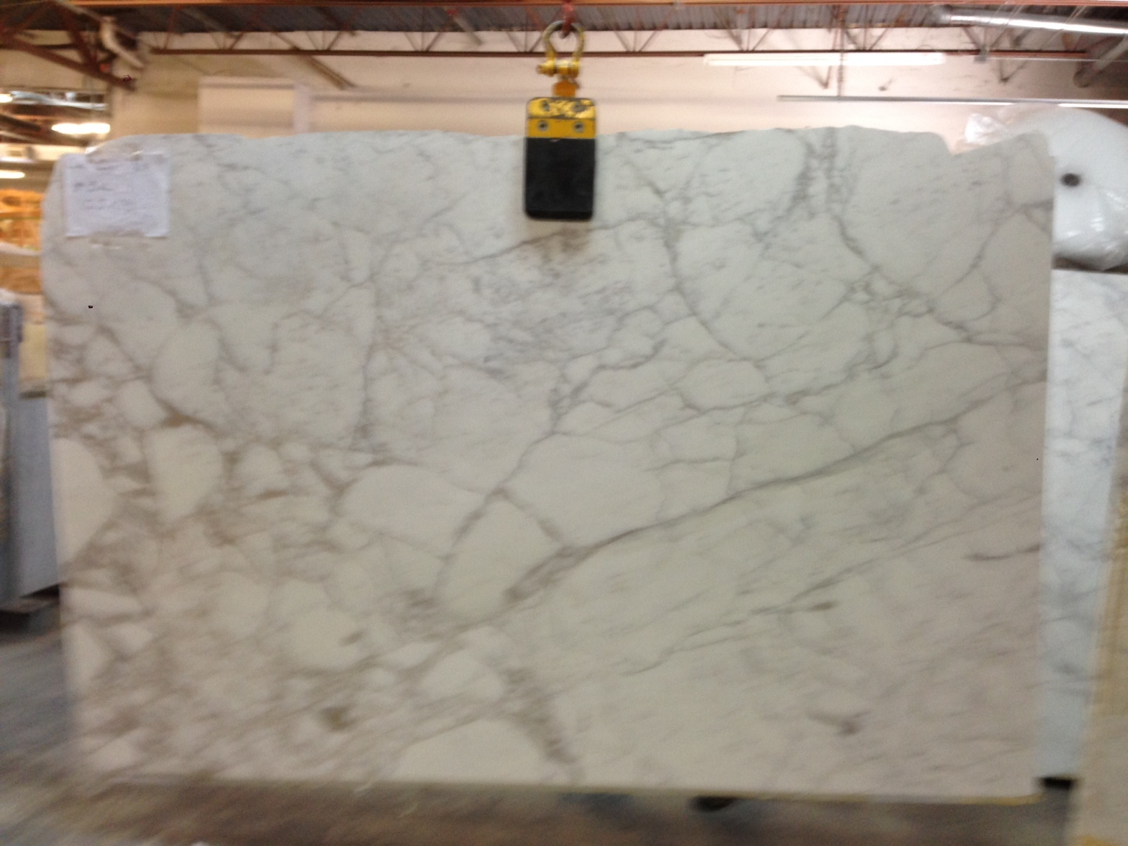 "Calacatta Gold Marble 1-1/4"" Slab Polished"