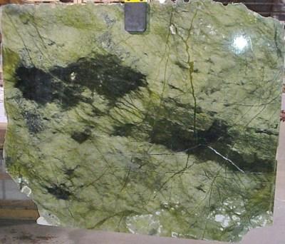 """Green Olivine Marble 3/4"""" Slab Polished"""