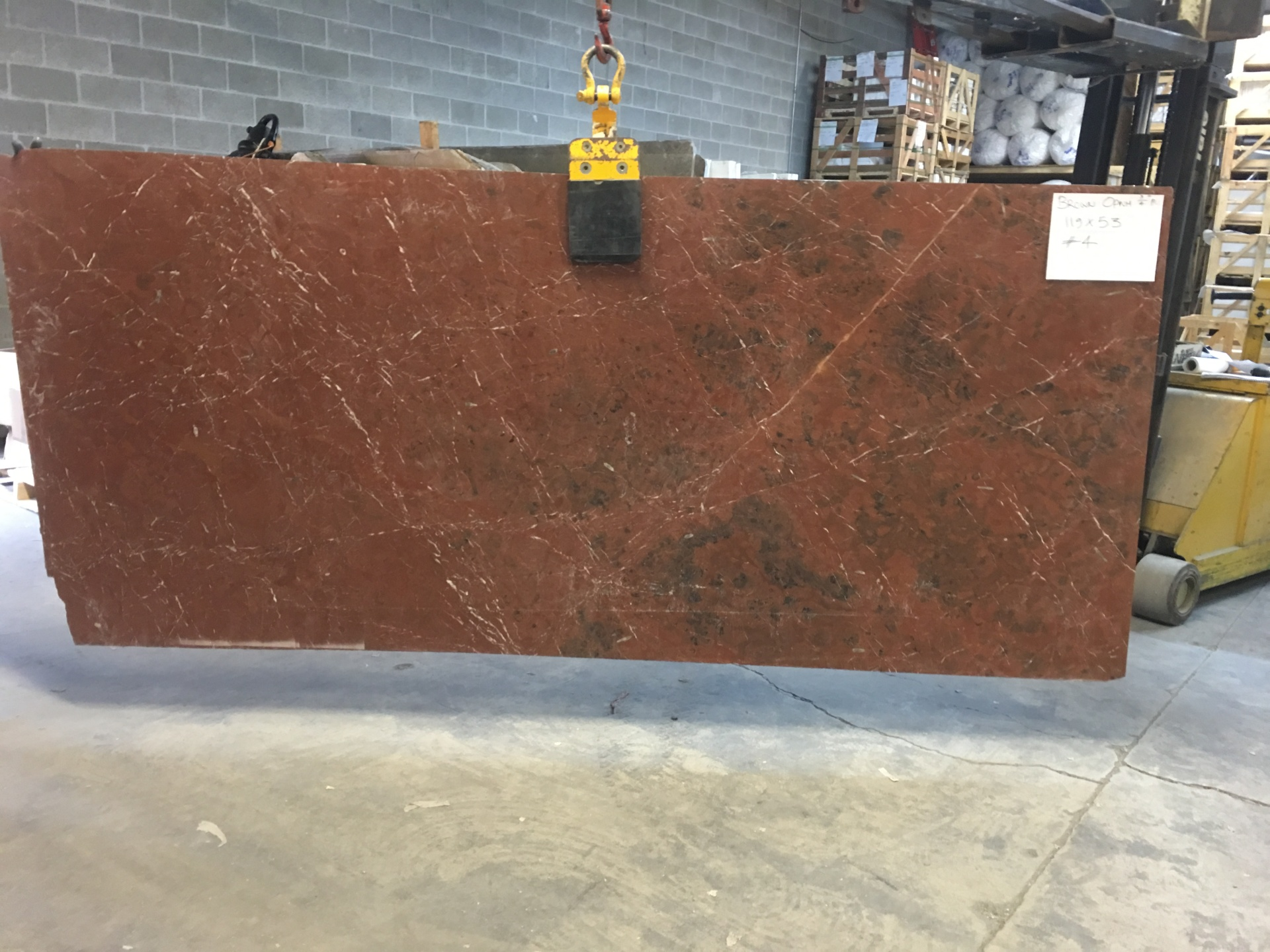 "Opium Brown 3/4"" Polished Marble Slabs  (Many Slabs Available, Please Inquire)"