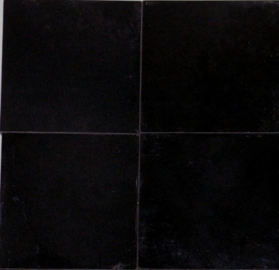 "Black Velvet Marble 4"" x 4"" Tile Polished"