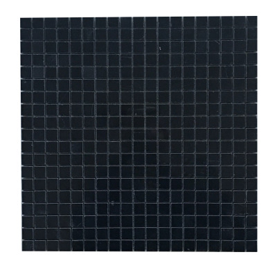 "Black Velvet Marble 5/8"" x 5/8"" Mosaic Polished"