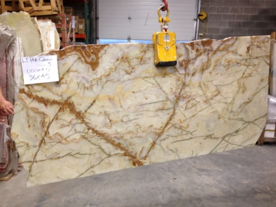 "Green Persian Pistachio 3/4"" Slab (Inquire on Availability)"