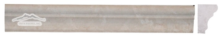 "Botticino Marble France Ogee 1-3/4"" x 12"" Honed Molding"