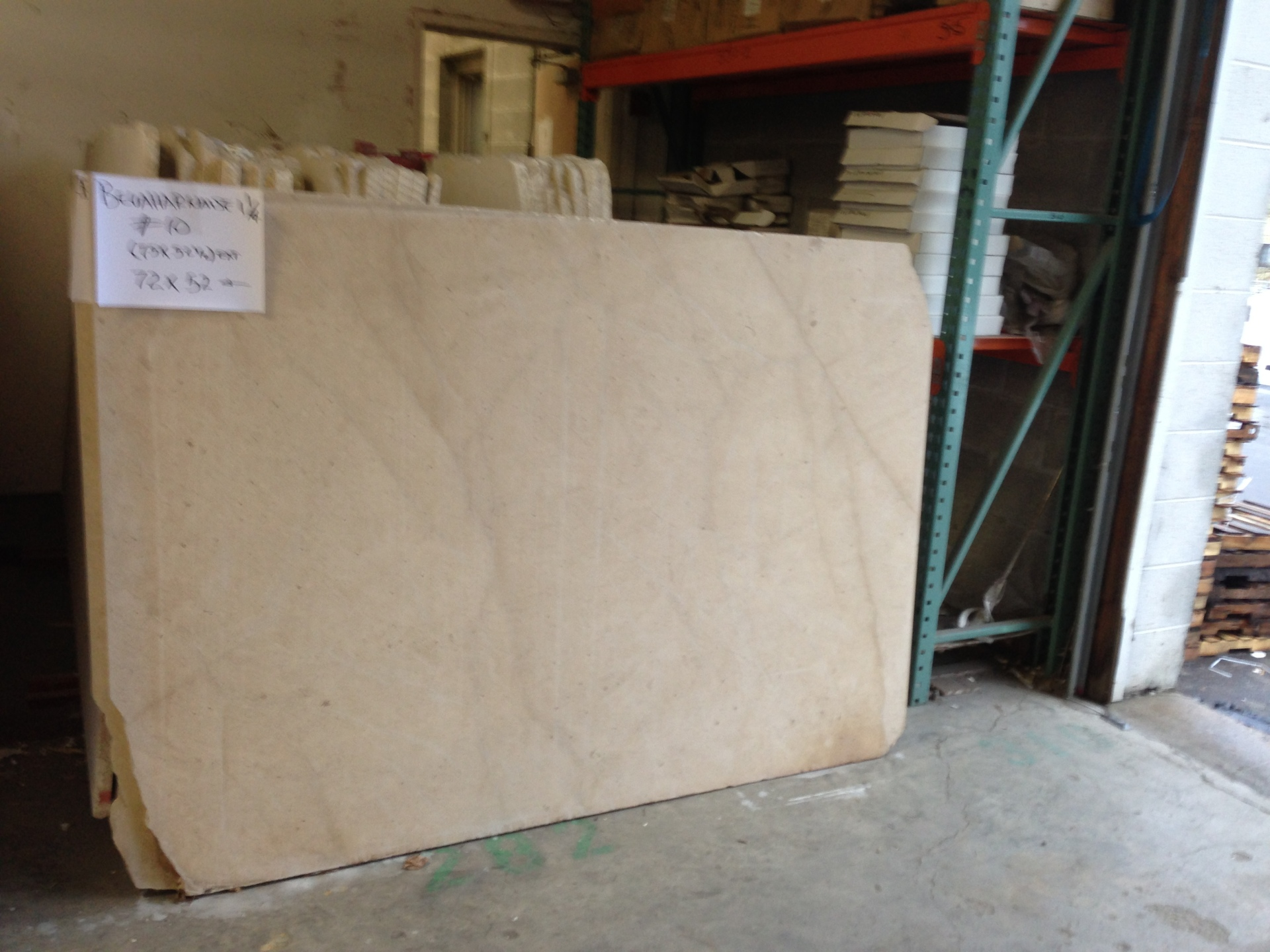 "Beauharnaise 3/4"" Honed Limestone Slabs (Check on Availability)"