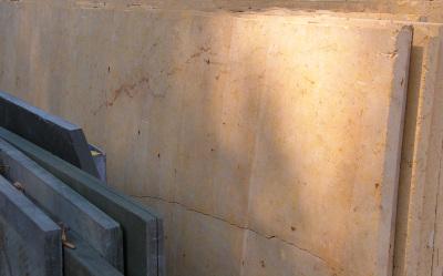 """Gold Pompeii 3/4"""" Sanded & Ungaged Limestone Slabs"""