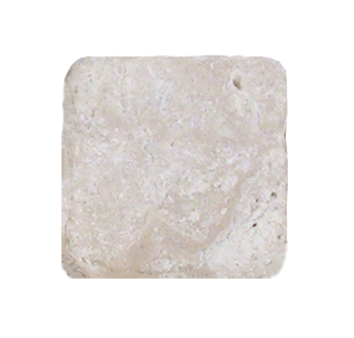 "Aztec Travertine 4"" x 4"" Tumbled Tile Tumbled"