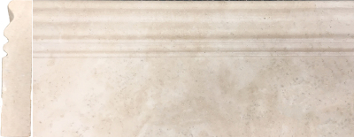 "Durango Travertine Base Molding: 5"" x 12"" Honed"