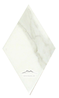 "Calacatta Gold Marble 4n"" x 6-5/8n"" Large Diamonds Loose Soft Touch 10 PCS/ SF"