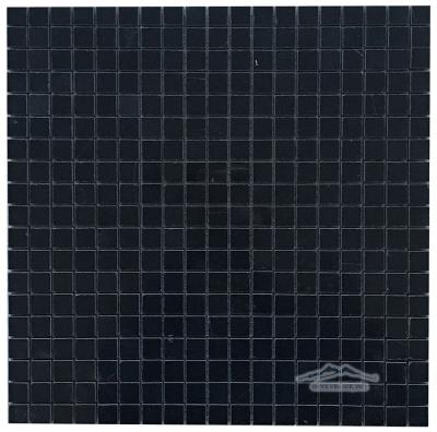"""Black Velvet Marble 5/8"""" x 5/8"""" Mosaic"""