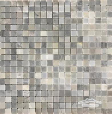 """Blue Saveh Marble 5/8"""" x 5/8"""" Mosaic"""