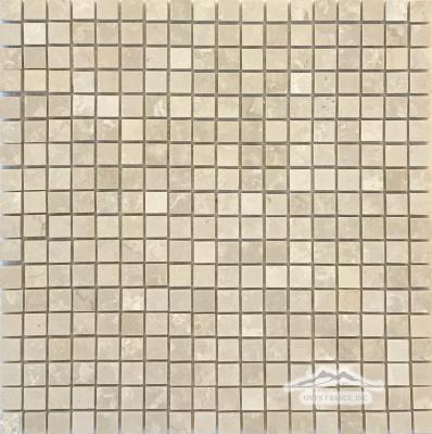 """Botticino Marble 5/8"""" x 5/8"""" Mosaic Polished"""